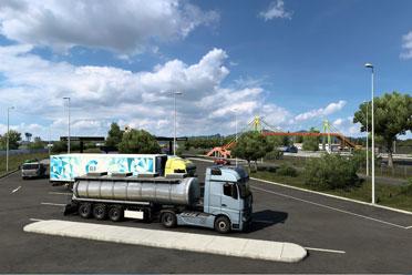 《欧洲卡车模拟2》全新DLC上线!售价60元 好评率89%
