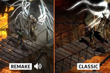《暗黑破坏神2》原版VS重制版!贴图与纹理全面升级