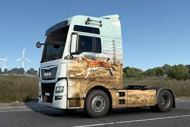 《欧洲卡车模拟2》新DLC获steam特别好评 景色太美