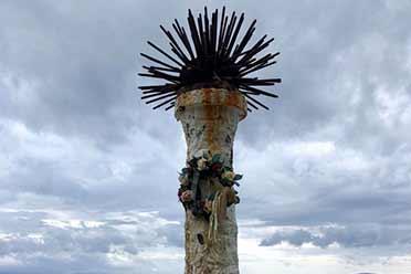 """克罗地亚有座塔竟然头顶""""海胆""""?奇葩事物的照片"""