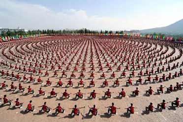 中国功夫操练场面震撼世界!15张令人眼界大开的照片