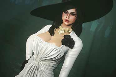 《辐射4》人物MOD:《生化8》吸血鬼女士性感亮相!