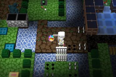 类rogue动作角色扮演游戏《地牢和墓碑》专题站上线