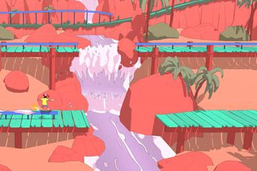 创新滑板动作平台游戏《奥力奥力世界》专题站上线
