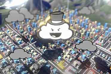 《整蛊白云》正式在Steam发售 今天你那边下雨了吗?