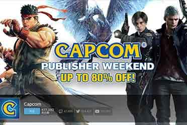 Steam每日特惠:卡普空发行商周末 旗下大作低至2折!