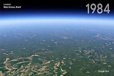 40年会有多大的变化?谷歌地球对比地球40年差异