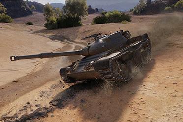 多面突击手撼地跃进《坦克世界》D系中坦昆泽试验车来袭