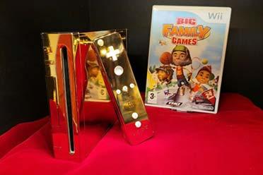 195万元!黄金Wii主机被拍卖:专为英国女王打造!