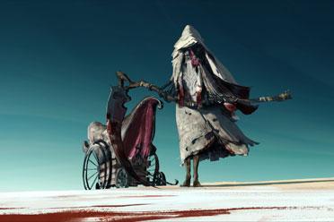 《地平线》设计师发布《血源诅咒2》概念设计图!