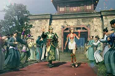 《真三国无双8帝国》新截图公布:刘备和孙尚香同屏!