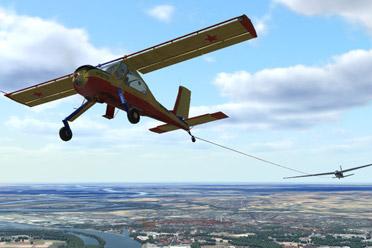 飞行模拟游戏《飞机世界滑翔机模拟器》专题站上线