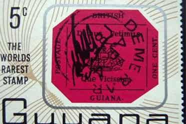 世界上最昂贵邮票将于6月8日拍卖 价值近1亿人民币