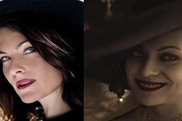 网友曝料《生化8》吸血鬼夫人脸模:西班牙女演员!