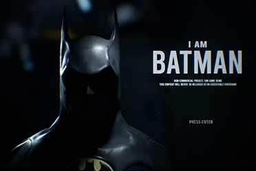 粉丝虚幻引擎自制游戏《蝙蝠侠1989》震撼演示/截图