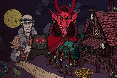 中世纪魔法题材手绘风RPG游戏《缔结契约》专题上线