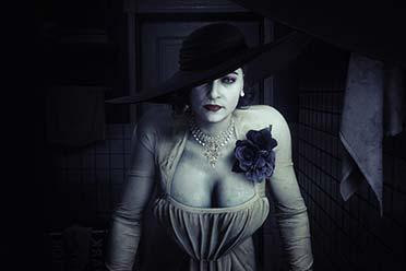 《生化3重制》吸血鬼夫人Mod来啦 吉尔变得又白又大