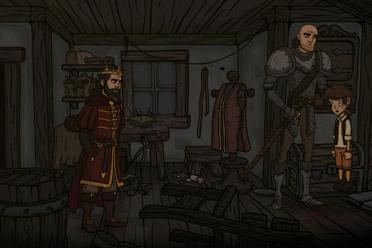 剧情丰富的黑暗卡通风冒险游戏《惊悚故事2》专题上线