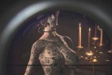 鼻血狂喷!《生化危机8》吸血鬼夫人性感蕾丝mod演示
