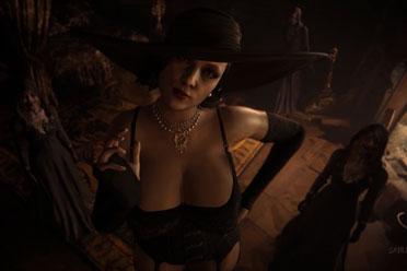 黑丝吊带贵妇人!《生化危机8》吸血鬼夫人清凉MOD