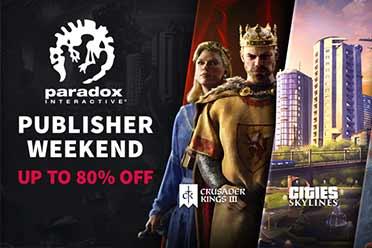 Steam发行商周末促销活动:P社策略游戏震撼超低价!
