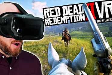 《荒野大镖客2:救赎》VR MOD发布 亲身体验西部人生
