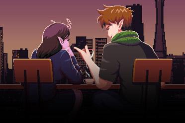 剧情丰富的互动小说游戏《魅魔咖啡厅》专题站上线