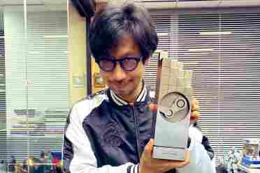 小岛秀夫晒Steam奖杯:《死亡搁浅》最具创意玩法奖
