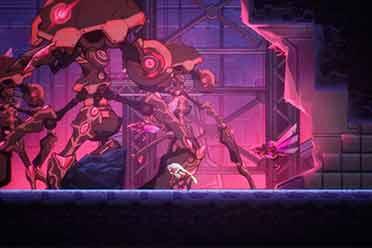 国产游戏《血焰引擎》将在Steam上线 近战版《洛克人》