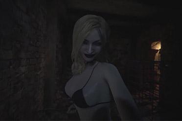 打满Mod的《生化8》就像沙滩派对 小姐姐快把衣服穿上