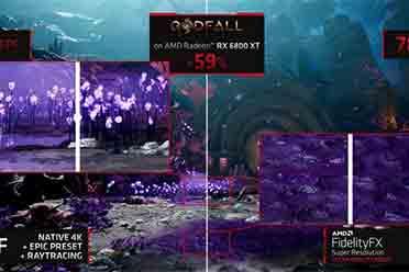AMD FSR技术被挑出毛病:极限质量下可见画面损失