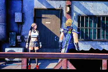 《FF7:重制过渡版》已偷跑 画面更细腻房门贴图被修复