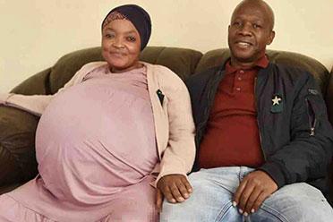 现实版十兄弟?南非一37岁女子诞下十胞胎破世界记录