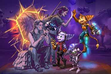 PS5最新大作《瑞奇与叮当》解禁贺图:艾比手拿大锤!