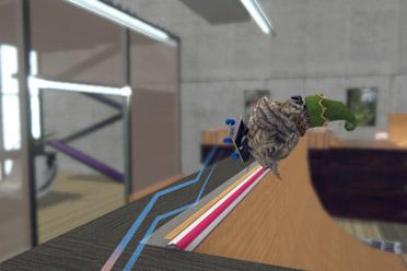 单人趣味滑板竞速类游戏《滑板鸟》游侠专题站上线