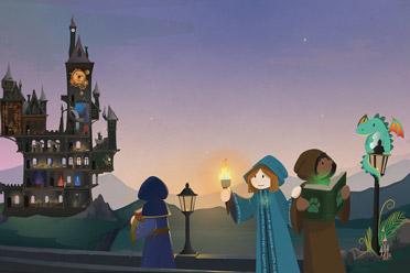 魔法学院模拟经营游戏《咒术师学院》游侠专题站上线