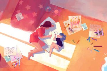 彩色手绘风2D解谜游戏《洛娜色彩之境》游侠专题上线