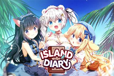 与可爱美少女荒岛求生!《无人岛日记》上架Steam