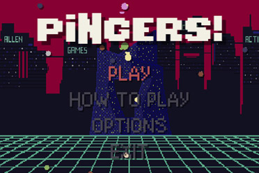 复古风格合作逐风游戏《Pingers》游侠专题上线