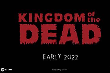黑白手绘风格 恐怖射击游戏《死亡帝国》2022年初登陆 steam发售