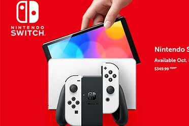 新款Switch OLED上架任天堂官网 除了性能全面升级!