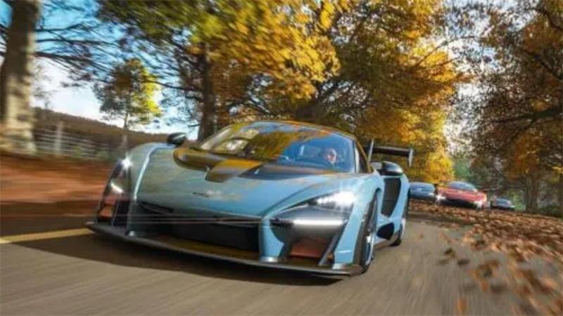 《极限竞速:地平线4》迈凯伦speedtail携多款豪车登陆