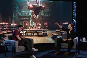 宅男超人!亨利·卡维尔拍摄《巫师》时大谈《战锤》