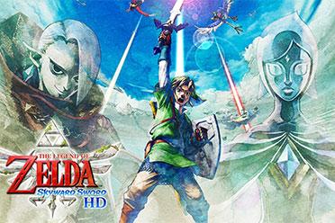 《塞尔达御天之剑HD》原版VS新版:载入时间减半!