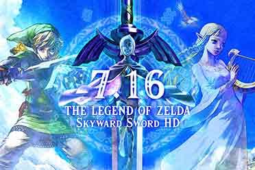 《塞尔达传说:御天之剑HD》上线!上市宣传片发布