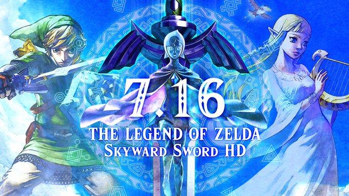 《塞尔达传说:御天之剑HD》正式发售 发售宣传片公开