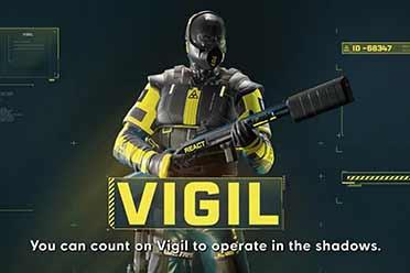 潜行装备升级!《彩六:异种》「Vigil」干员预告片