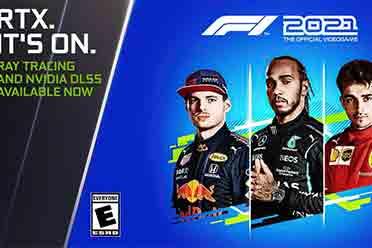 《F1 2021》在DLSS加成下4K最高有65%性能提升!
