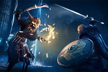 《刺客信条:英灵殿》官方预告下次更新将加入单手剑