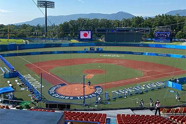 东京奥运会首场比赛 女子垒球项目已在福岛开赛!